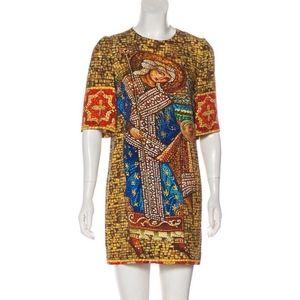 DOLCE & GABBANA Byzantine collection Runway Dress